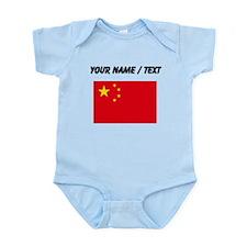 Custom China Flag Body Suit