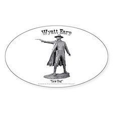 Wyatt Earp Oval Decal