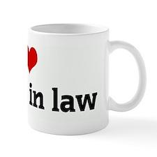 I Love my son in law Mug