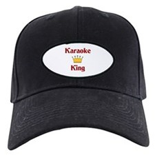 Karaoke King Baseball Hat