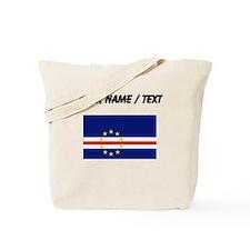 Custom Cape Verde Flag Tote Bag