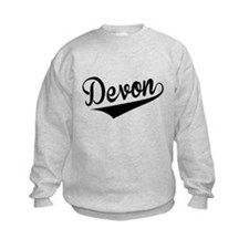 Devon, Retro, Sweatshirt