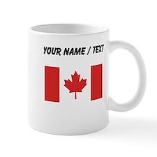 Custom Canada Flag Mugs