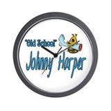 Johnny Harper Wall Clock