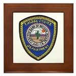 Indio Cabazon Police Framed Tile