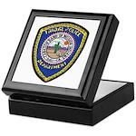 Indio Cabazon Police Keepsake Box