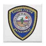 Indio Cabazon Police Tile Coaster