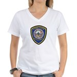 Indio Cabazon Police Women's V-Neck T-Shirt