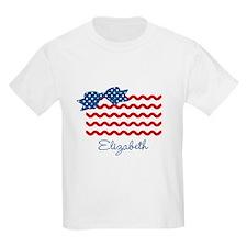 Girly Rick Rack Flag T-Shirt