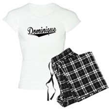 Dominique, Retro, Pajamas