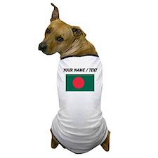 Custom Bangladesh Flag Dog T-Shirt