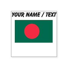 Custom Bangladesh Flag Sticker