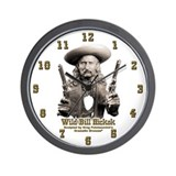 Wild Bill Hickok 01 Wall Clock