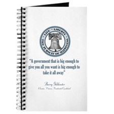 Barry Goldwater Quote Journal