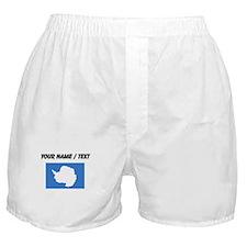 Custom Antarctica Flag Boxer Shorts