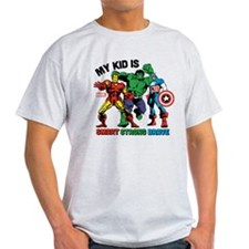 Marvel My Kid is Smart T-Shirt