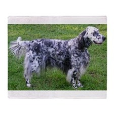 English Setter full Throw Blanket