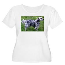 English Setter full Plus Size T-Shirt