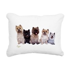 Cairn Terriers Rectangular Canvas Pillow