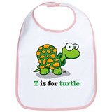 Cute Turtle Bib