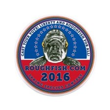 "2014 Official Roughfish.com Contest 3.5"" Butt"