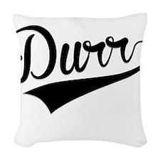 Durr, Retro, Woven Throw Pillow