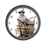 Wild Bill Hickok 02 Wall Clock