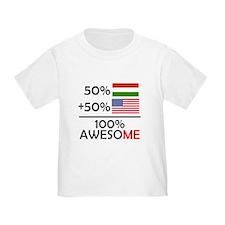 Half Hungarian Half American T-Shirt