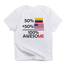 Half Colombian Half American Infant T-Shirt