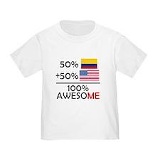 Half Colombian Half American T-Shirt