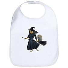 Squirrel Witch Bib