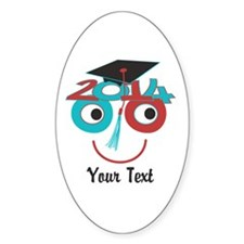 Customize Funny Grad Dude Decal
