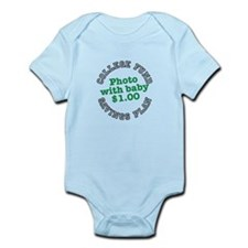 College fund savings plan photo with baby $1 Body