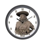 Wild Bill Hickok 03 Wall Clock