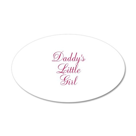 Daddys Little Girl in Pink Wall Decal