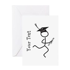Customize Grad Runner © Greeting Card