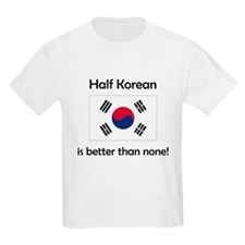 Half Korean T-Shirt