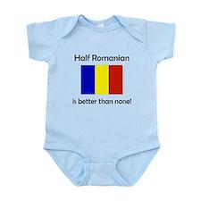Half Romanian Body Suit
