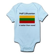 Half Lithuanian Body Suit