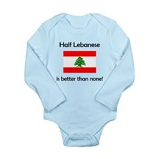 Half Lebanese Body Suit
