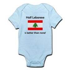 Half Lebanese Body Suit