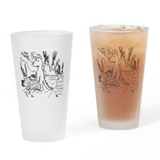 Sad Destructor Drinking Glass