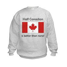 Half Canadian Sweatshirt