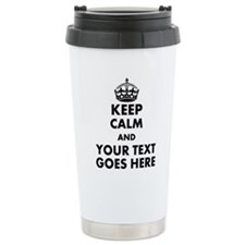 keep calm gifts Travel Mug