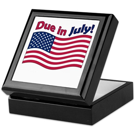 Due in July Keepsake Box
