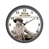 Wild Bill Hickok 04 Wall Clock
