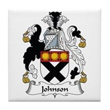 Johnson II Tile Coaster