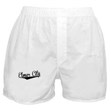 Elmer City, Retro, Boxer Shorts
