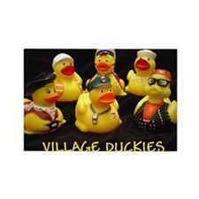 Cute Duckys Rectangle Magnet