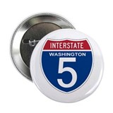 "I-5 Washington 2.25"" Button"